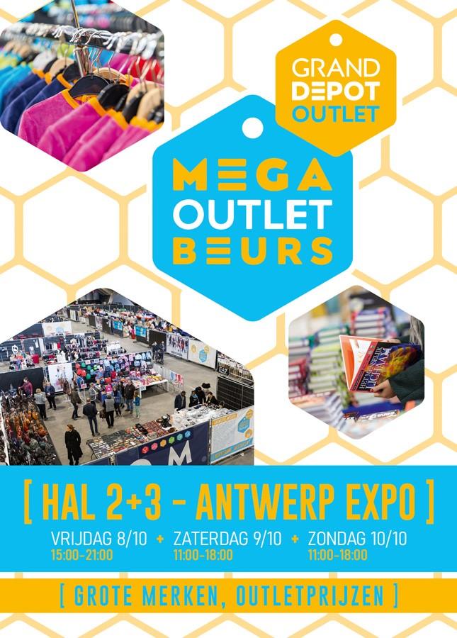 Mega Outlet Beurs Antwerpen Flyer